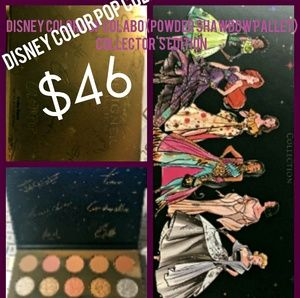 Disney x colour pop collaboration